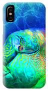 Parrotfish - Rainbow Spirit IPhone Case