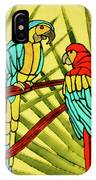 Parrots IPhone X Case