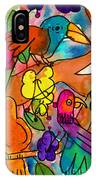 Parrots IPhone Case