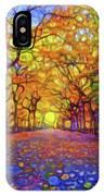 Park In Autumn IPhone Case