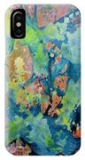 Party 100x120cm Acrylic On Canvas IPhone Case
