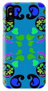 Pasley Print IPhone Case