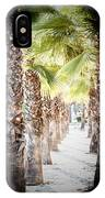 Pass Of Palms IPhone Case