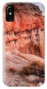 Passing Time At Red Rock IPhone Case