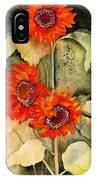 Passion, Energy, And Joy IPhone Case