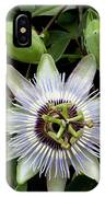 Passion Flower 1 IPhone Case
