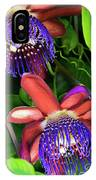 Passion Flower Ver. 12 IPhone Case