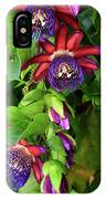 Passion Flower Ver. 16 IPhone Case