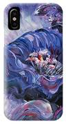Passion In Blue IPhone Case