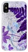 Passion Of Purple IPhone Case