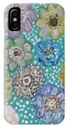 Pastel Floral Garden IPhone Case