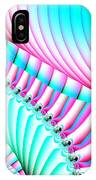 Pastel Spiral Staircase Fractal IPhone Case