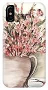 Pastels In Clay Pot IPhone Case