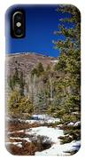 Patches Of Snow IPhone Case