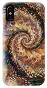 Patchwork Spiral IPhone Case
