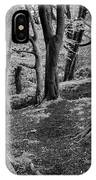 Path In Crownest Woods IPhone Case