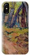 Path In The Garden Of The Asylum, By Vincent Van Gogh, 1889, Kro IPhone Case