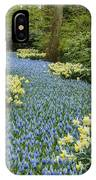 Path Of The Beautiful Spring Flowers IPhone Case