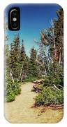 Path On Top Of Mt. Howard, Wallowa Or IPhone Case