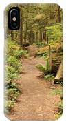 Path Through Mossy Forest IPhone Case