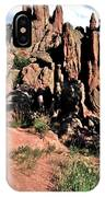 Path To Red Rocks IPhone Case