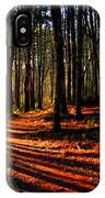 Path To Serenity - Nickerson State Park IPhone Case