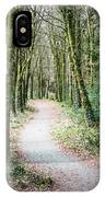 Path To The Forest IPhone Case