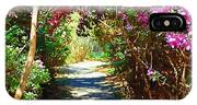 Path To The Gardens IPhone Case