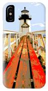 Path To The Lighthouse IPhone Case