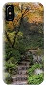 Pathway Into Fall IPhone Case