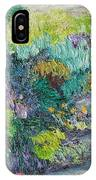 Pathway Of Flowers IPhone Case