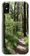 Pathway Through The Woods IPhone Case