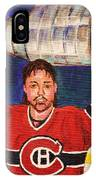 Patrick Roy Wins The Stanley Cup IPhone Case