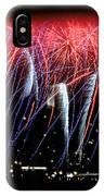 Patriotic Fireworks S F Bay IPhone Case