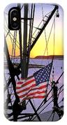 Patriotic Fisherman IPhone Case