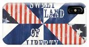 Patriotic Quilt 3 IPhone X Case