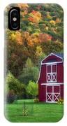 Patriotic Red Barn IPhone Case