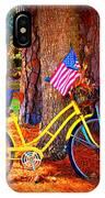 Patriotic Ride IPhone Case
