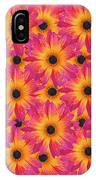 Pattern Of African Daisies IPhone Case