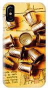 Patterns And Thimbles IPhone Case