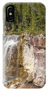 Paulina Creek Falls From The Top IPhone Case