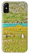 Paulina Lake Formed After Newberry Crater Erupted 1200 Years Ago In Oregon IPhone Case
