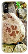 Paws On The Rocks IPhone Case