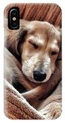 Peace At Last #saluki IPhone Case