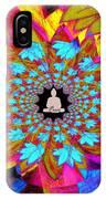 Peace Buddha Meditation IPhone Case