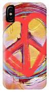 Peace Love  Art IPhone Case