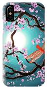 Peace Tree With Orange Dragonflies IPhone Case