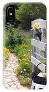 Peaceful Garden IPhone Case