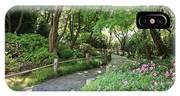 Peaceful Garden Path IPhone Case