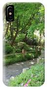 Peaceful Garden Path IPhone Case